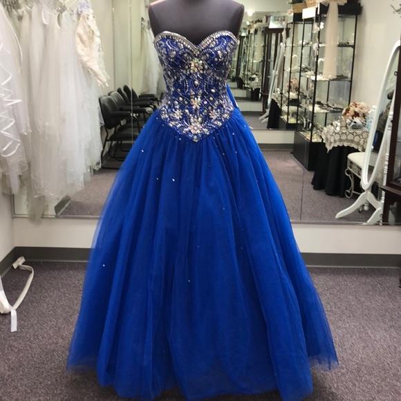 ddcd7987eea Fiesta prom quinceanera sweet 16 royal gown
